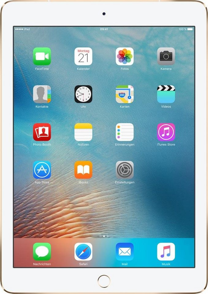 "Apple iPad Pro 9,7"" Cellular 128 GB in Gold"