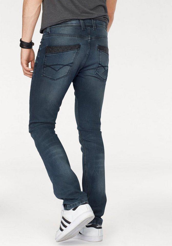 Bruno Banani Slim-fit-Jeans »Craig (Stretch)« in dark-used