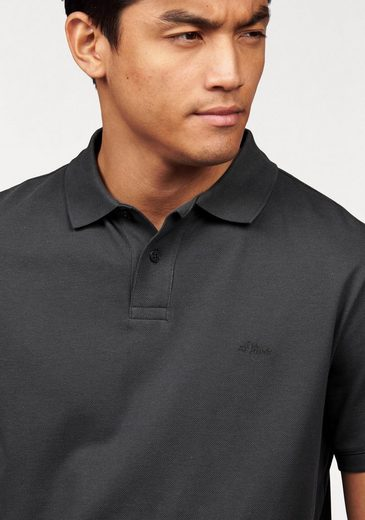 s.Oliver RED LABEL Poloshirt, Piqué