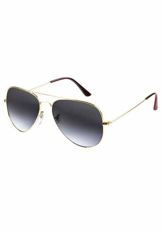 PRIMETTA Eyewear Sonnenbrille, im zeitlosen Design, goldfarben, goldfarben-braun