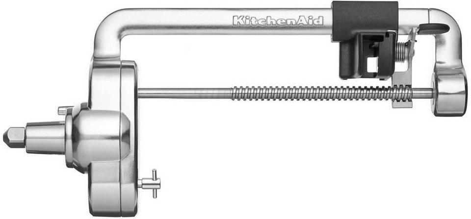 KitchenAid Spiralschneideraufsatz 5KSM1APC, Zubehör für alle KitchenAid Küchenmaschinen, mit 4 Messern