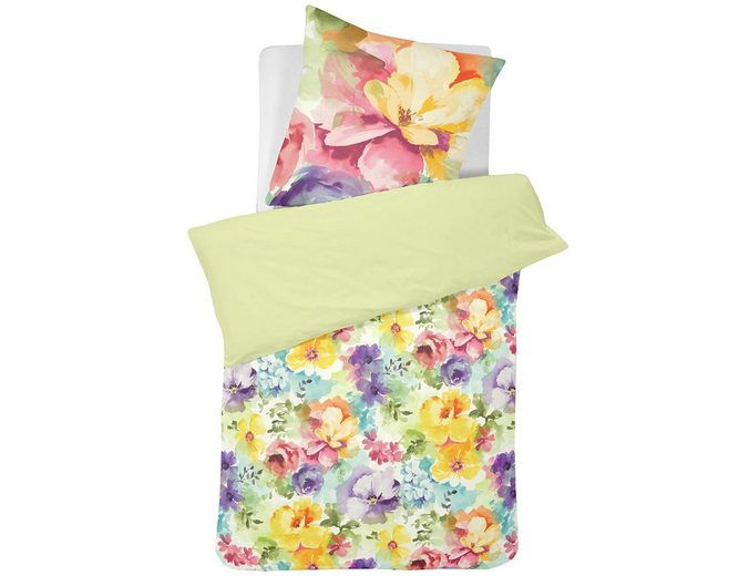 Bettwäsche, Cinderella, »Hanne«, mit bunten Blüten