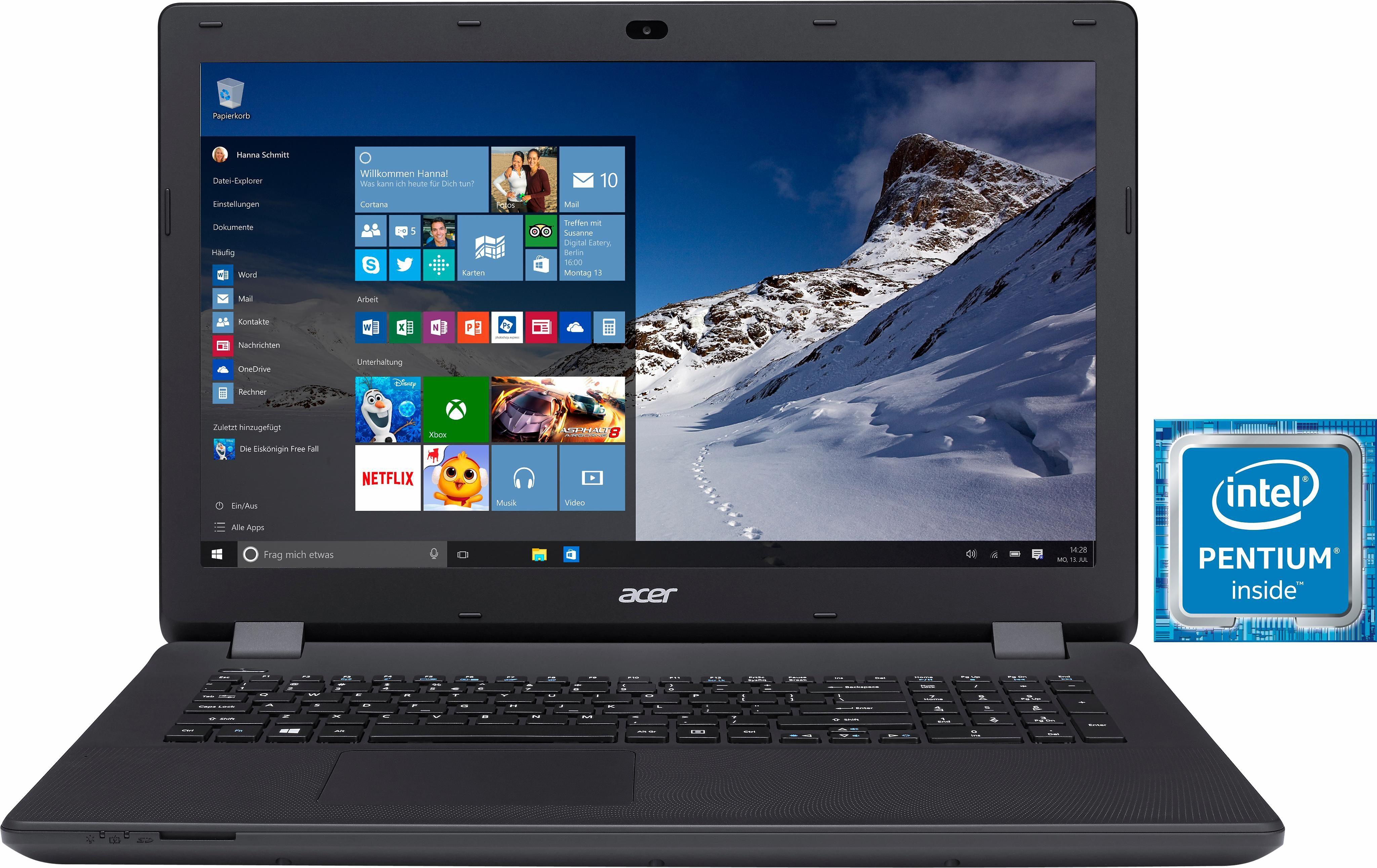 Acer Aspire ES1-731G-P27Y Notebook, Intel® Pentium™, 43,9 cm (17,3 Zoll), 1000 GB Speicher