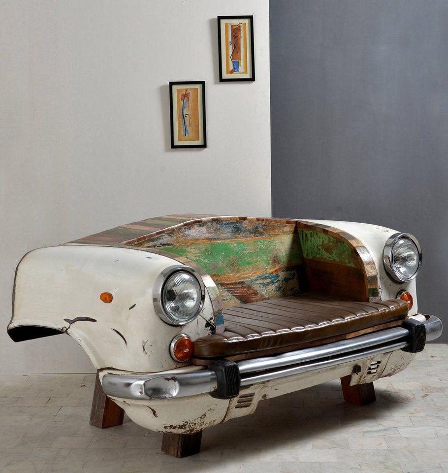 SIT Sofa »Car to SIT« Autofront, Breite 172 cm in weiß/bunt