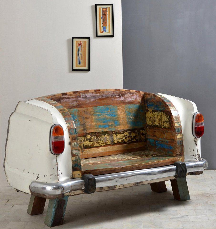 SIT Sitzbank »Car to SIT« Autoheck, Breite 172 cm in weiß/bunt