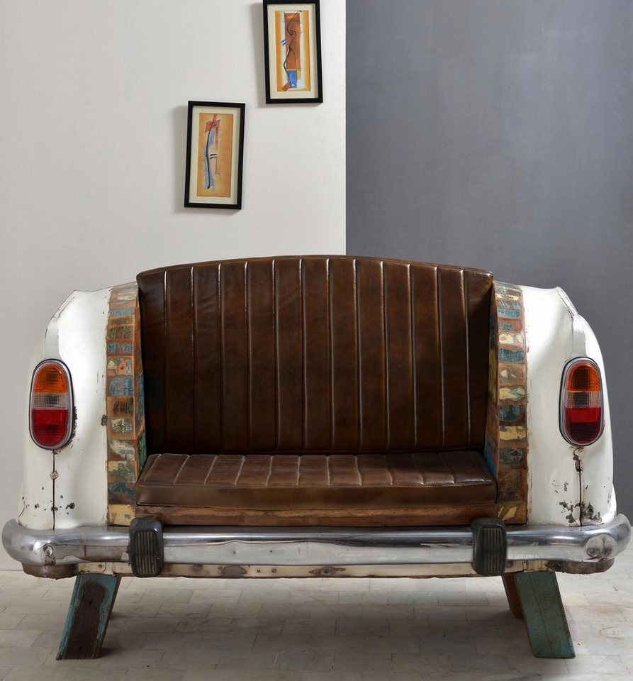 SIT Sofa »Car to SIT« Autoheck, Breite 172 cm in weiß/bunt