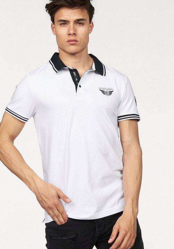 Bruno Banani Poloshirt in weiß