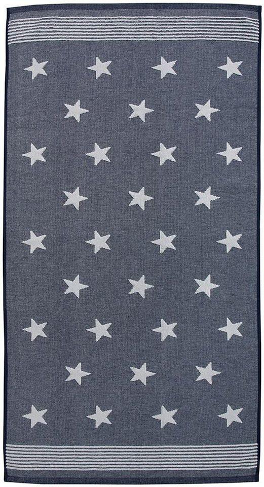 Handtücher, Seahorse, »Stardust«, mit Sternen & Streifen in blau