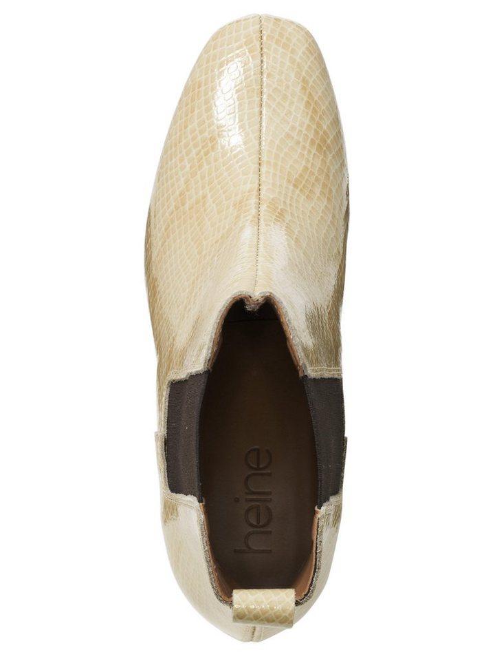 Heine Stiefelette in beige