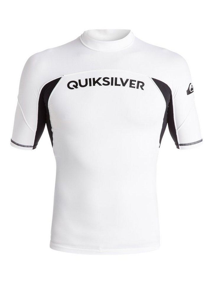 Quiksilver Rash Vest »Performer« in White / black