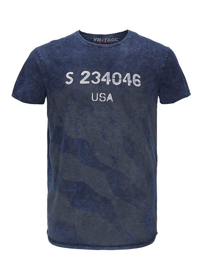 Jack & Jones Grafik- T-Shirt in Total Eclipse