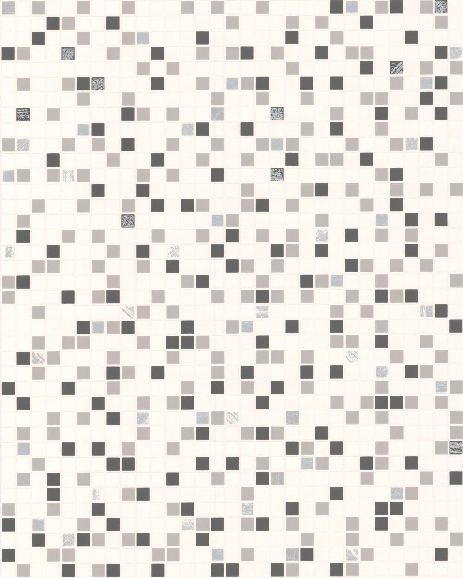 Papiertapete »Checker Fliese«