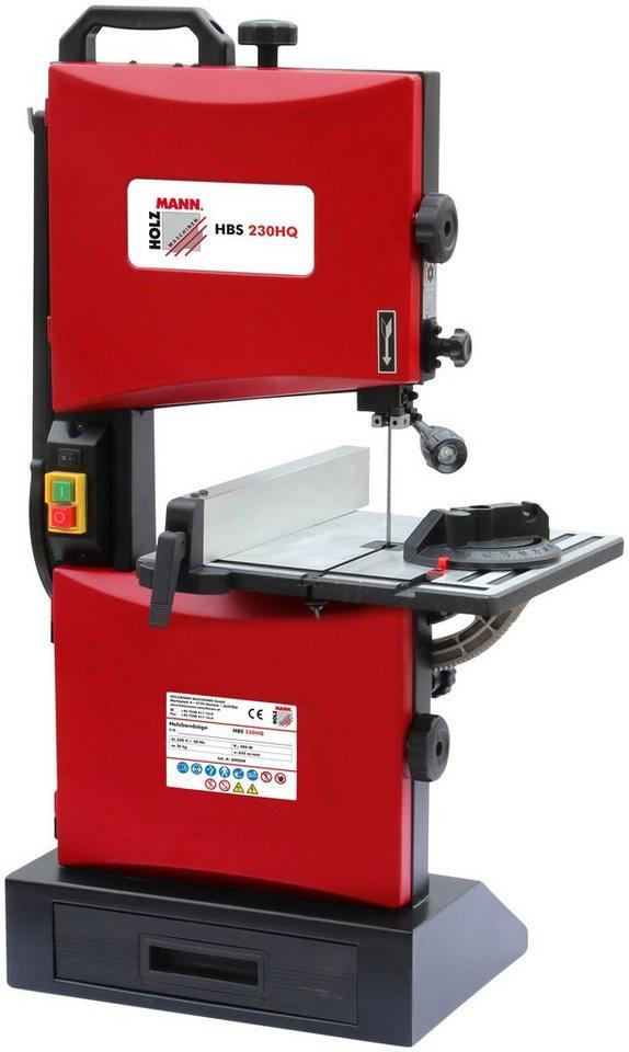 Holzmann-Maschinen Holzbandsäge »HBS 230HQ« in rot