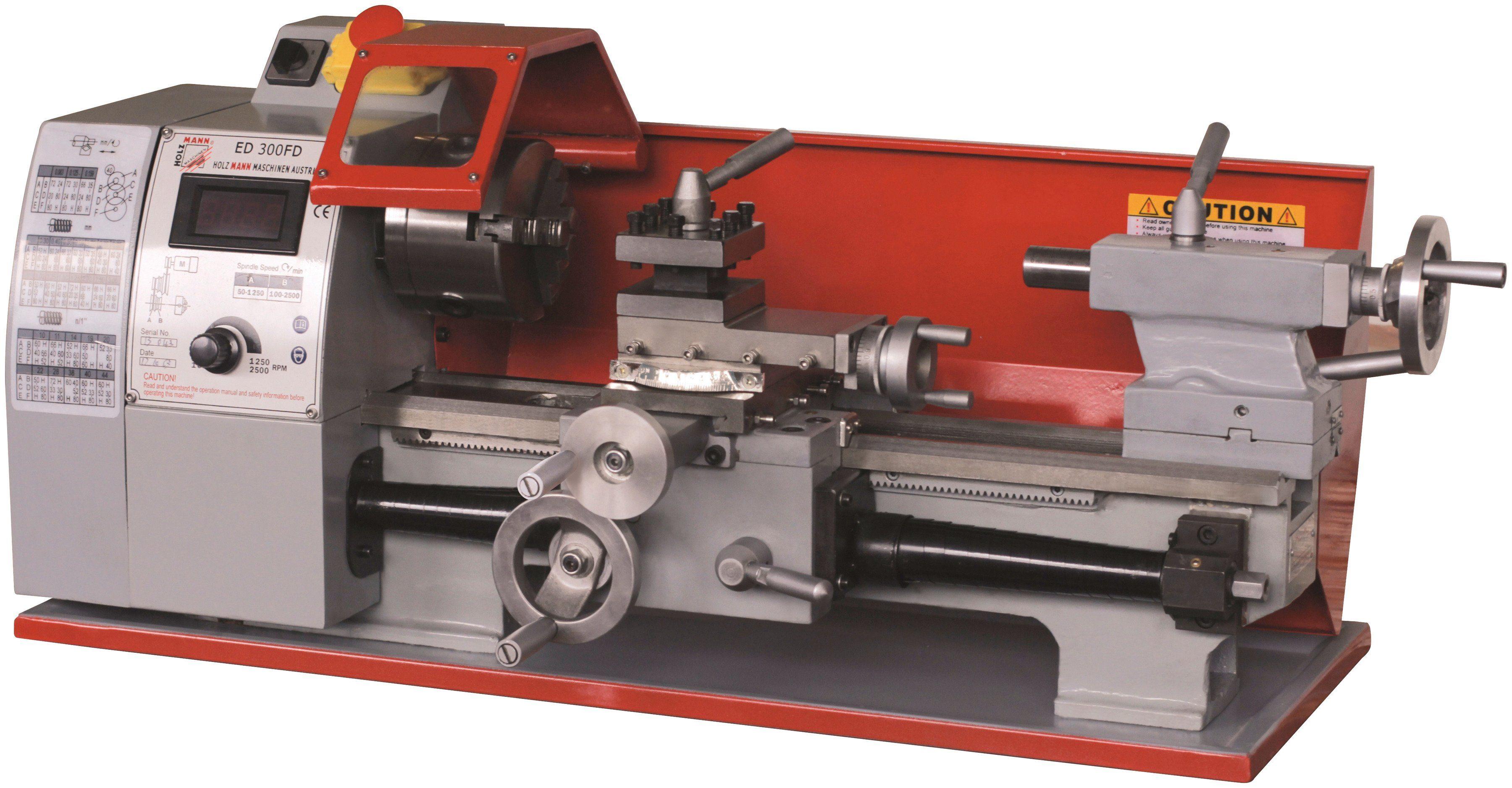 Holzmann-Maschinen Tischdrehmaschine »ED 300FD«