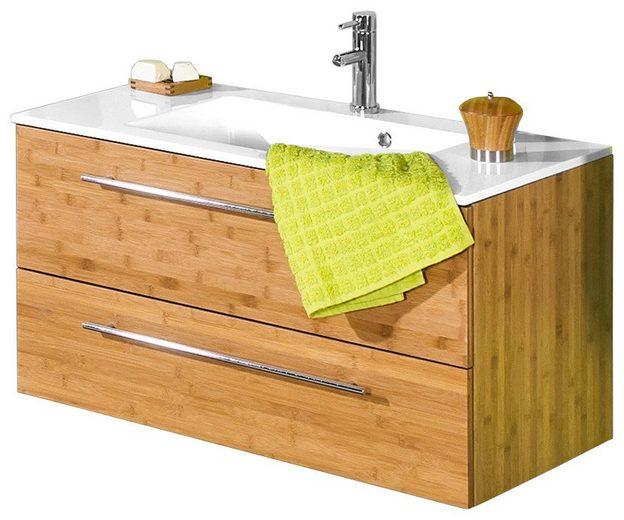 Schildmeyer waschtisch topline bambus breite 90 cm 2 - W schildmeyer badmobel ...