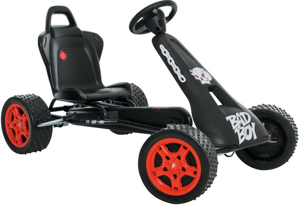 Ferbedo Go-Cart schwarz, »Cross-Racer Bad Boy« in schwarz