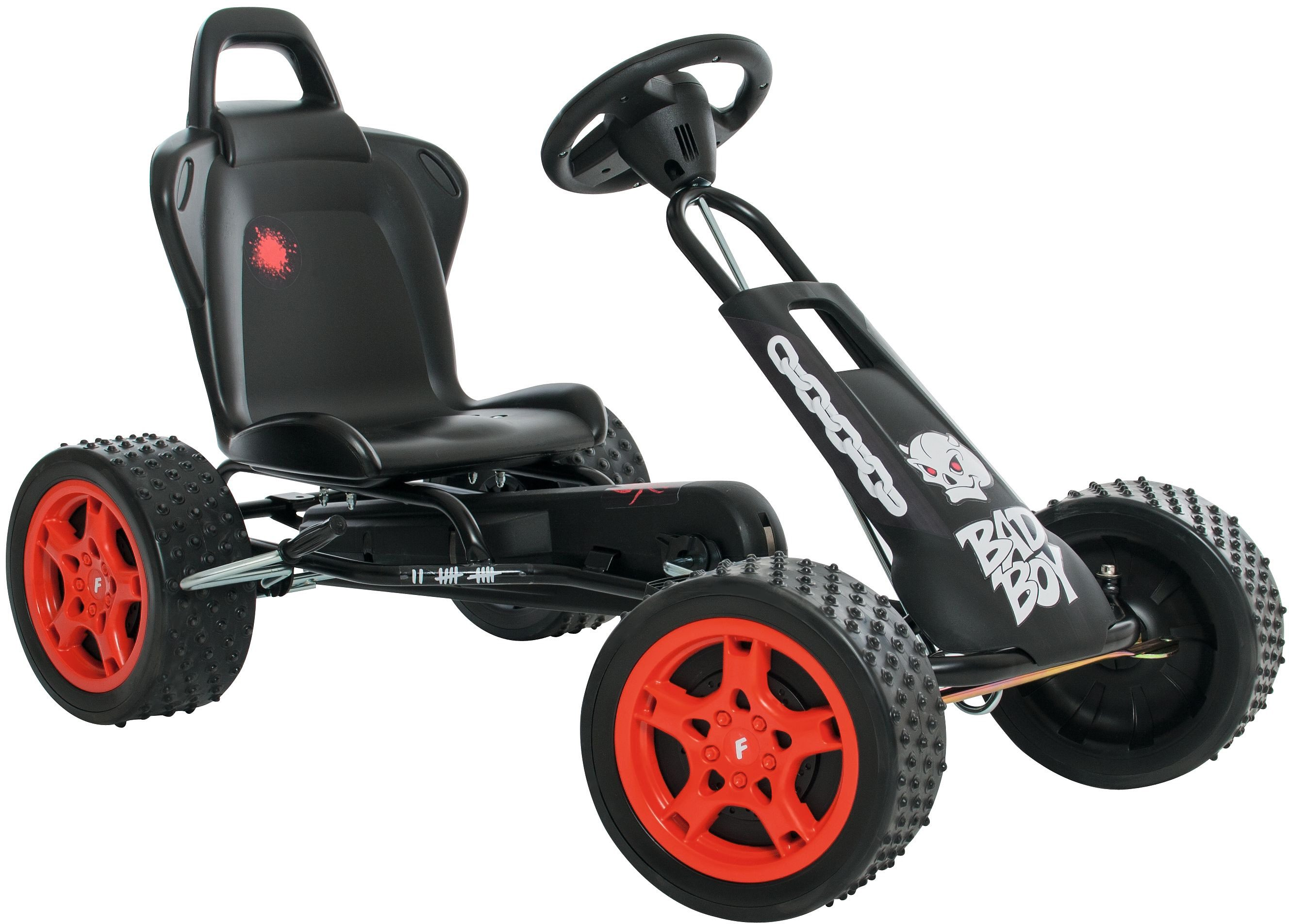 Ferbedo Go-Cart schwarz, »Cross-Runner Bad Boy«