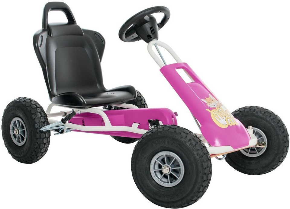 Ferbedo Go-Cart pink, »Air-Runner Wild Cat« in weiß-pink