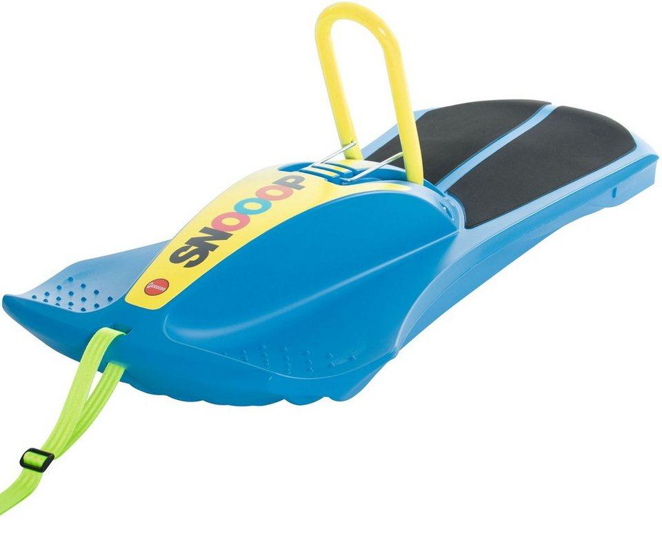 Ferbedo Schlitten mit gefederter Sitzfläche himmelblau, »Carver Snooop« in himmelblau