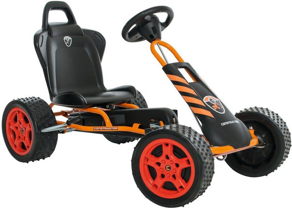 Ferbedo Go-Cart orange, »Cross-Runner Constructor« in orange