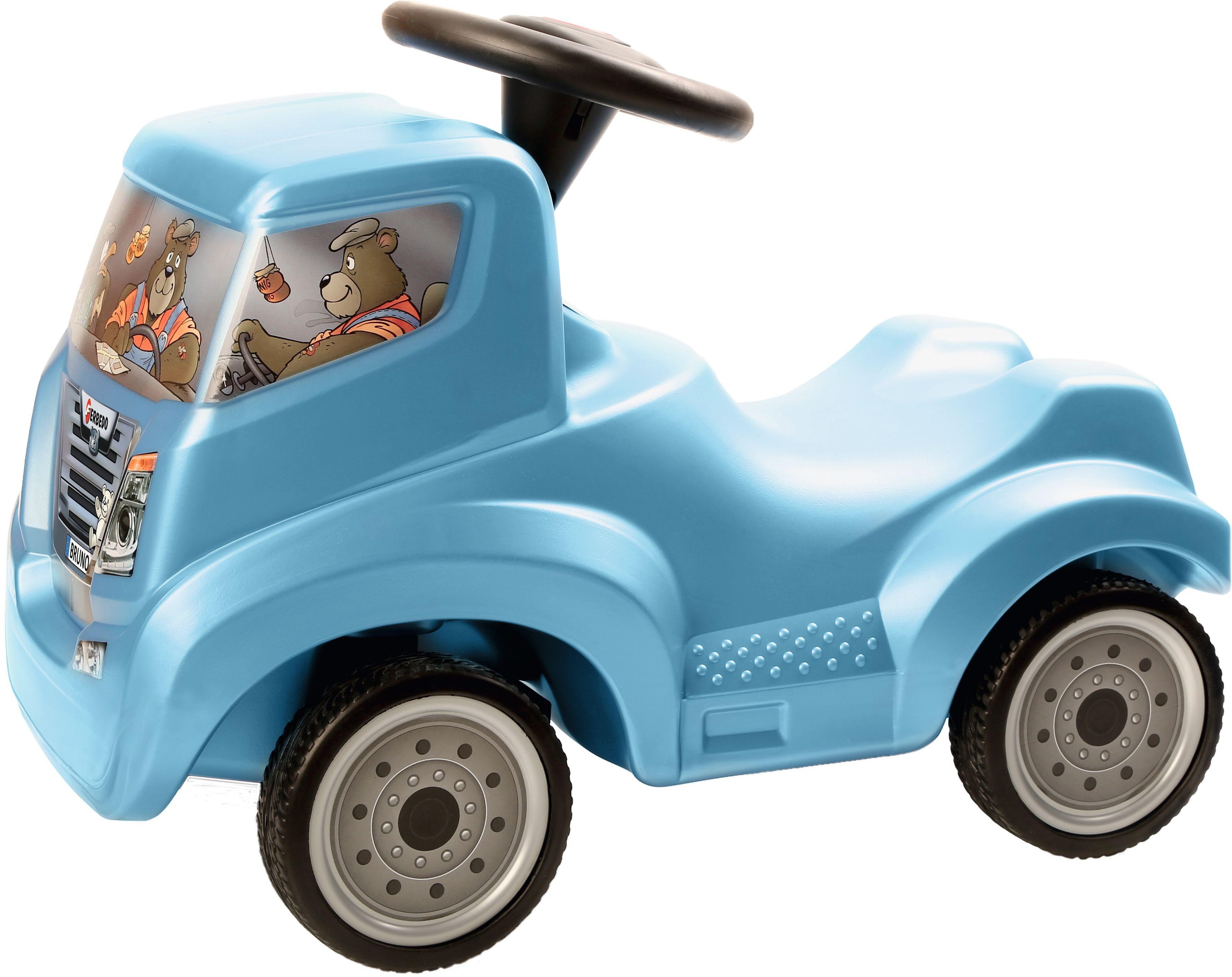 Ferbedo Rutscher Auto eisblau metallic, »Bruno«