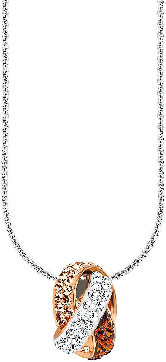 Amor Kette mit Anhänger, mit Swarovski® Kristallen, »E89/1«