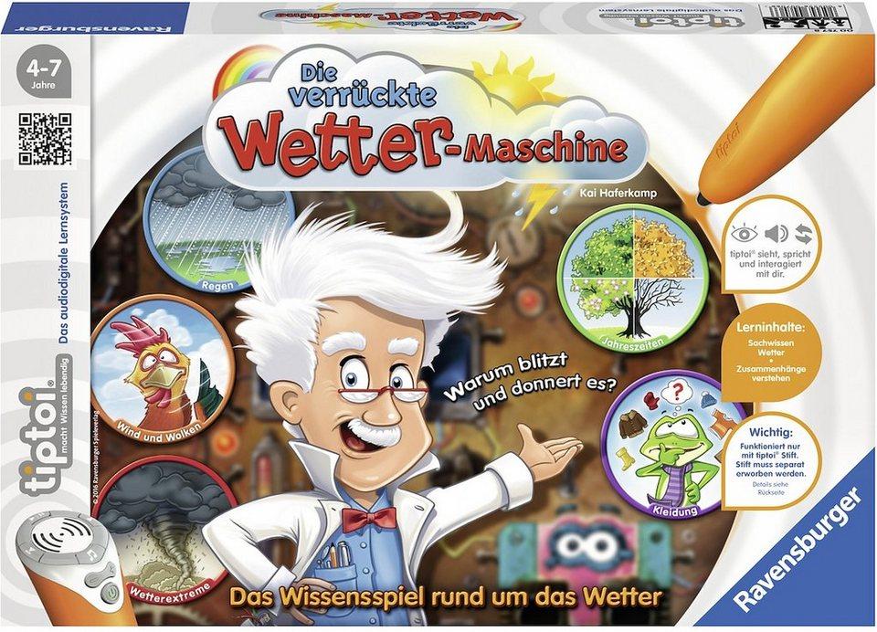 Ravensburger Spiel tiptoi®, »Die verrückte Wettermaschine«