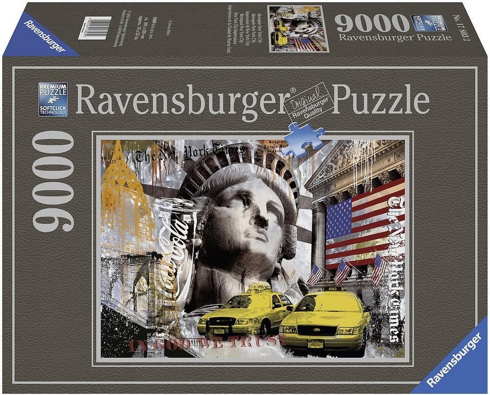 Ravensburger Puzzle, 9000 Teile, »Metropole New York City«