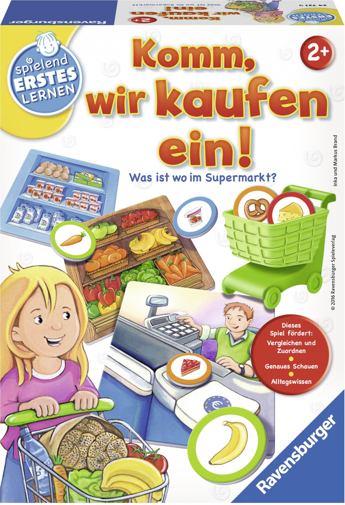 Ravensburger Legespiel, »Komm, wir kaufen ein!«