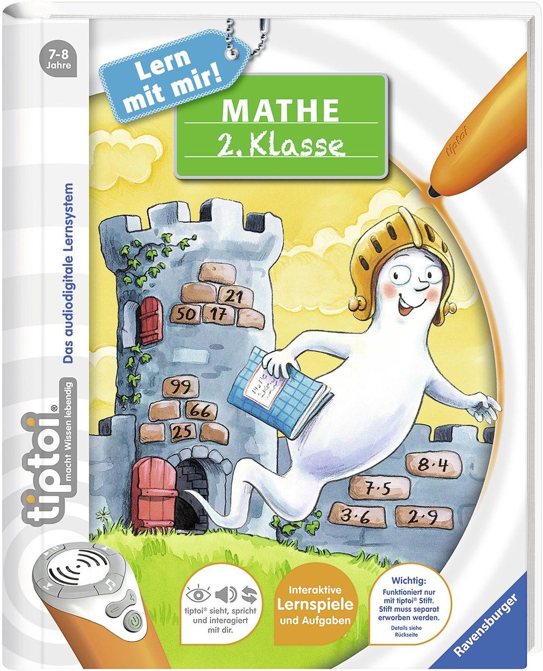 Ravensburger Buch tiptoi®, »Lern mit mir! Mathe 2. Klasse«