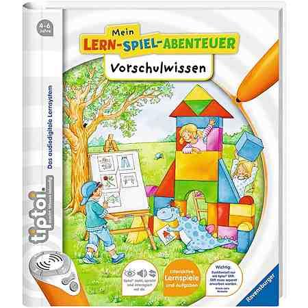 Ravensburger Buch tiptoi®, »Mein Lern Spiel Abenteuer Vorschulwissen«