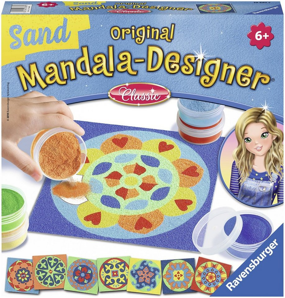 Ravensburger Bastelset, »Mandala Designer Sand classic«