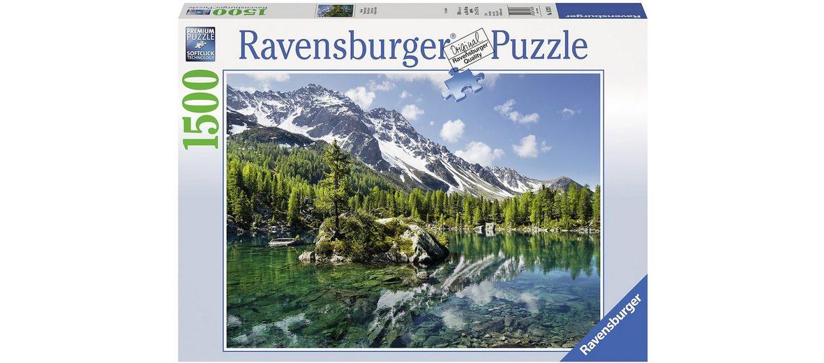 Ravensburger Puzzle, 1500 Teile, »Bergmagie«