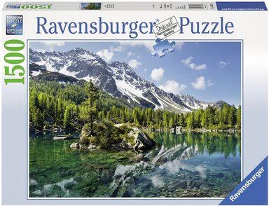Ravensburger Puzzle »Bergmagie«, 1500 Teilig, Softclick Technology