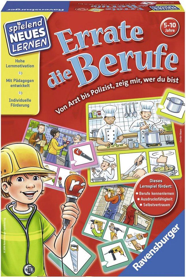 Ravensburger Kinderspiel, »Errate die Berufe«