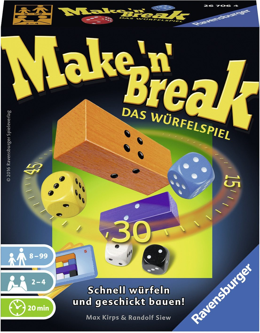Ravensburger Würfelspiel, »Make `N' Break Würfelspiel«