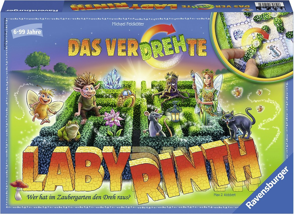 Ravensburger Brettspiel, »Das verdrehte Labyrinth«