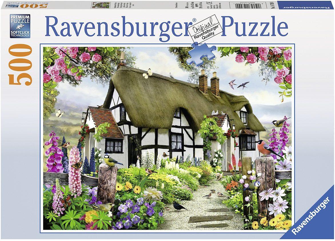Ravensburger Puzzle, 500 Teile, »Verträumtes Cottage«