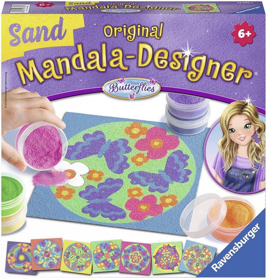 Ravensburger Bastelset, »Mandala Designer Sand Butterflies«