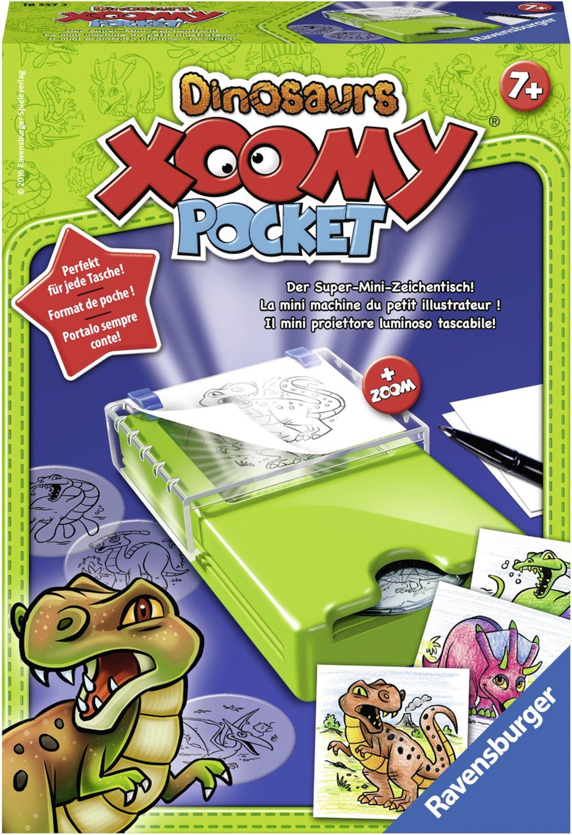 Ravensburger Zeichentisch, »Xoomy® Pocket Dinosaurs«