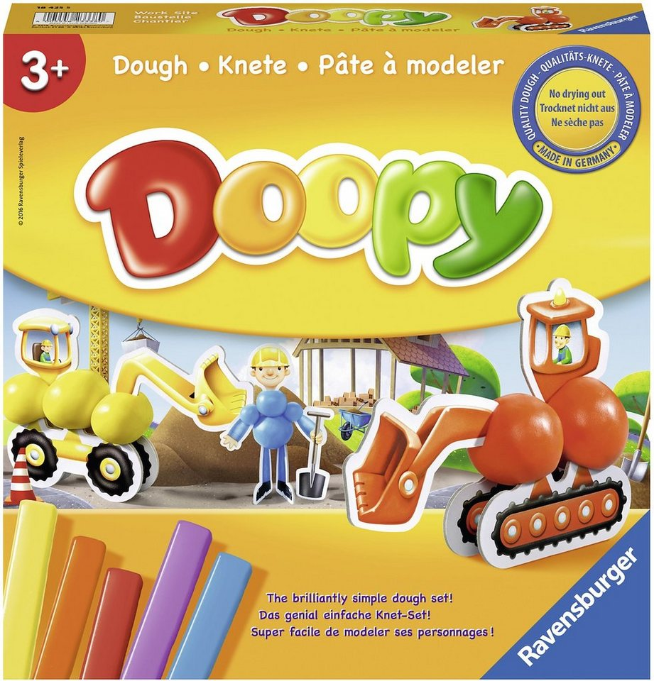 Ravensburger Knetset, »Doopy: Baustelle«