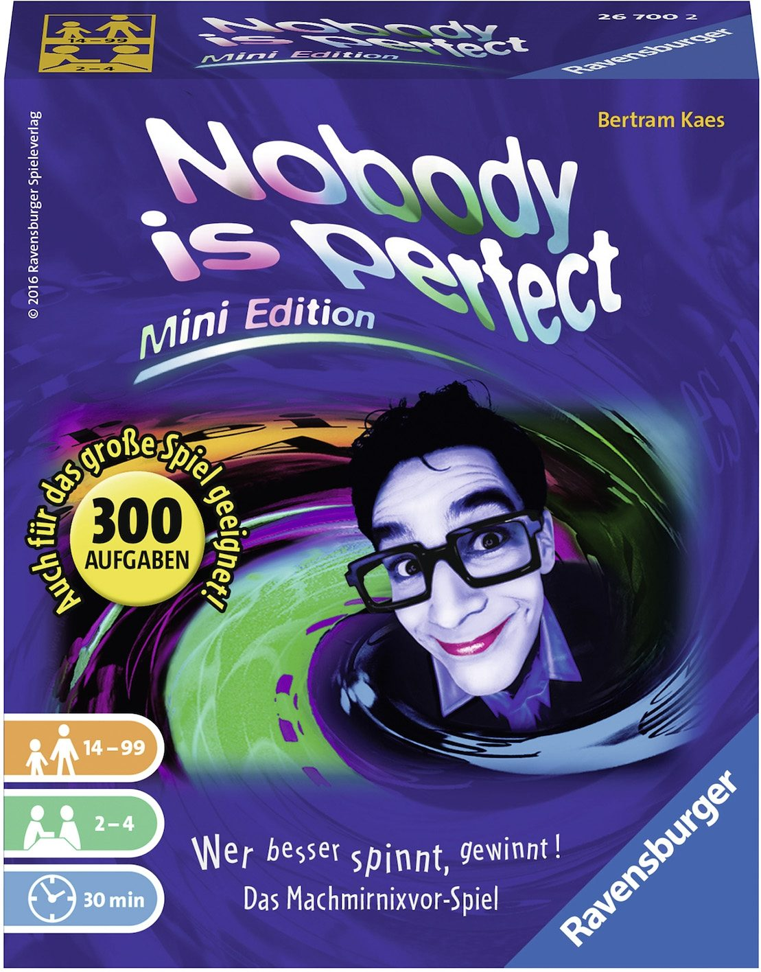 Ravensburger Kartenspiel, »Nobody is perfect Mini Edition«