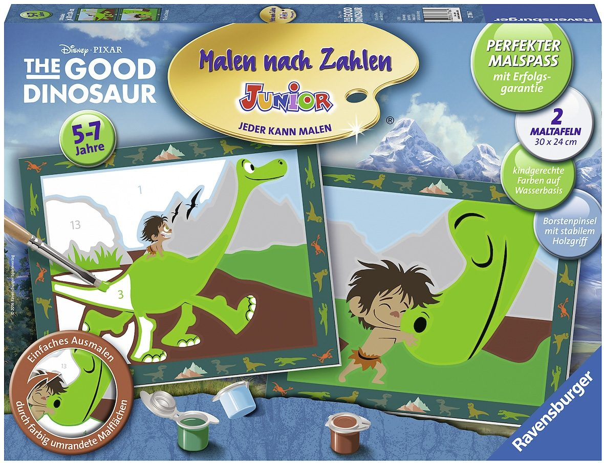 Ravensburger Malen nach Zahlen Junior, »The Good Dinosaur«
