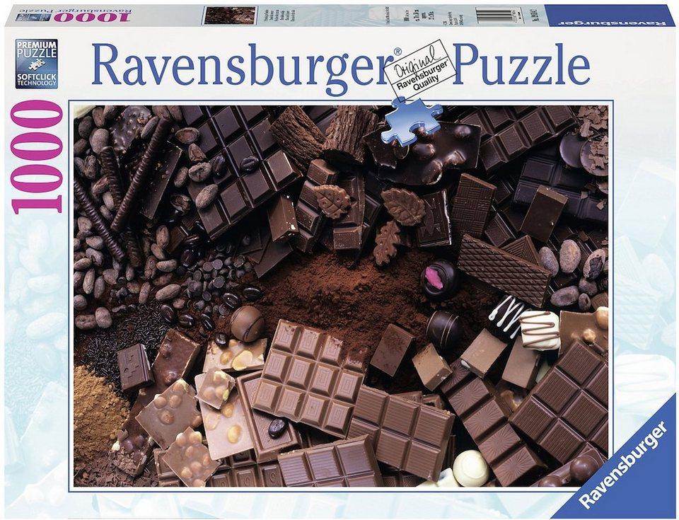 Ravensburger Puzzle, 1000 Teile, »Schokoladiges Paradies«
