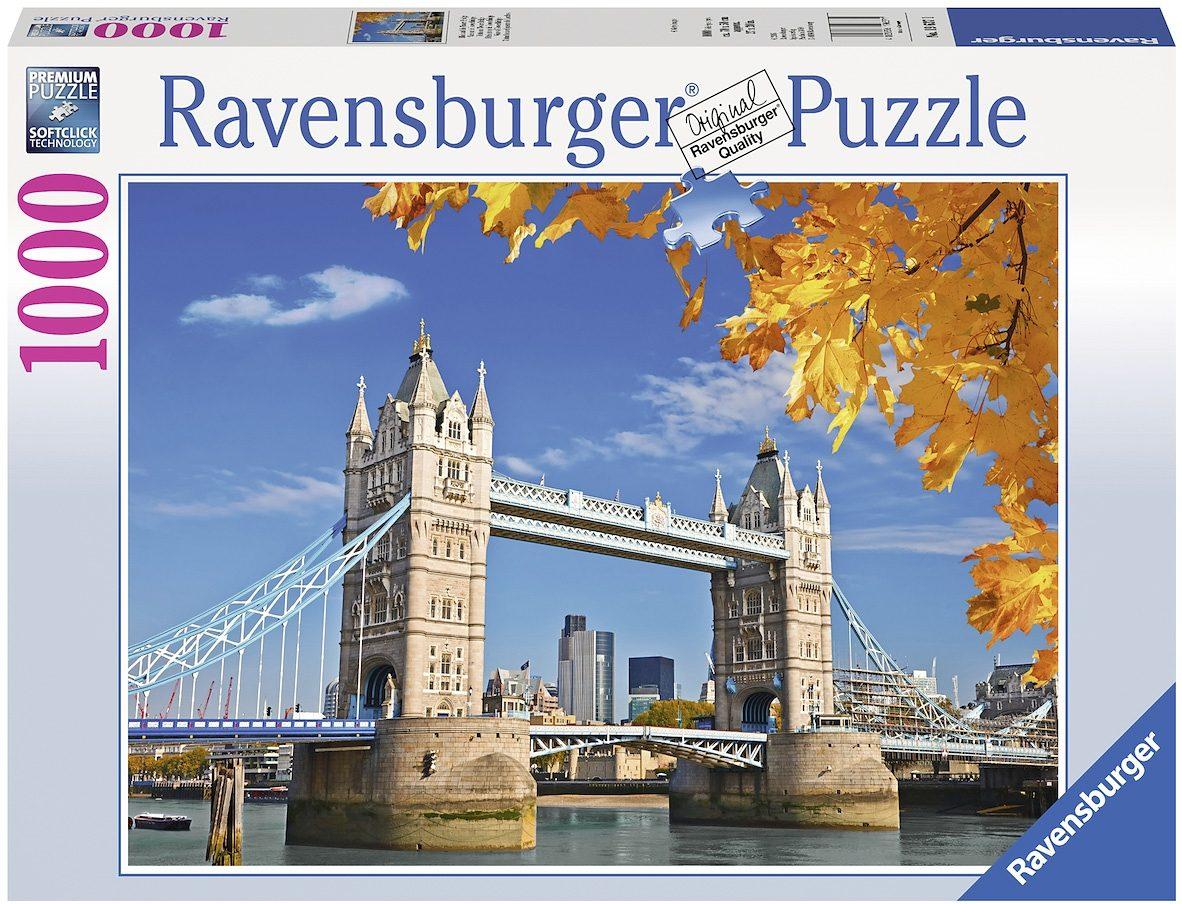 Ravensburger Puzzle, 1000 Teile, »Blick auf die Tower Bridge«