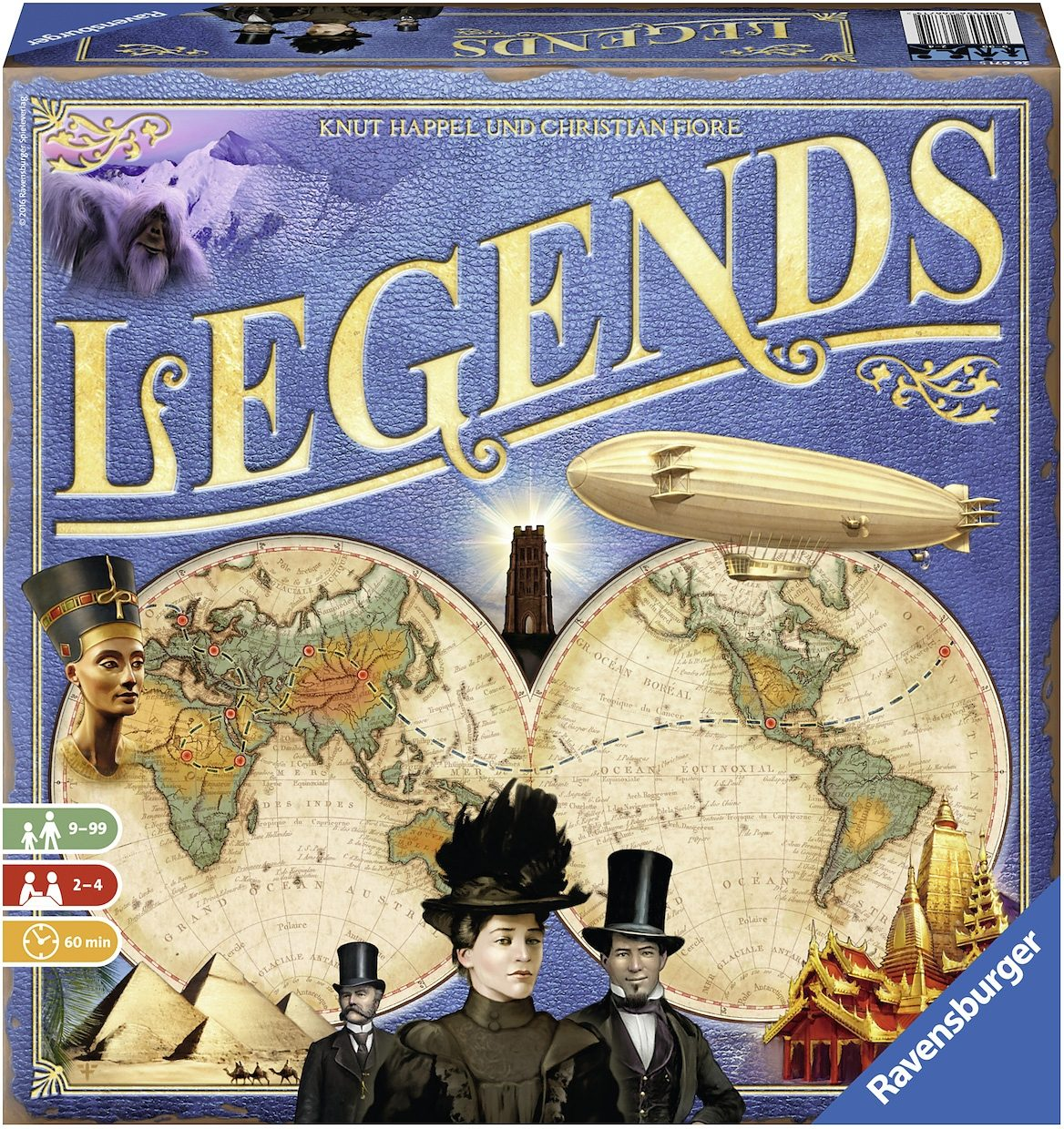 Ravensburger Brettspiel, »Legends«
