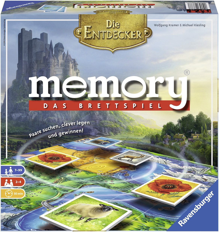 Ravensburger Spiel, »memory® Das Brettspiel Die Entdecker«