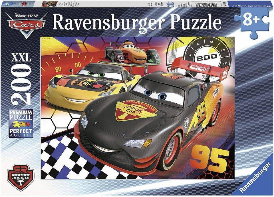 ravensburger xxl puzzle 200 teile disney cars auf der. Black Bedroom Furniture Sets. Home Design Ideas