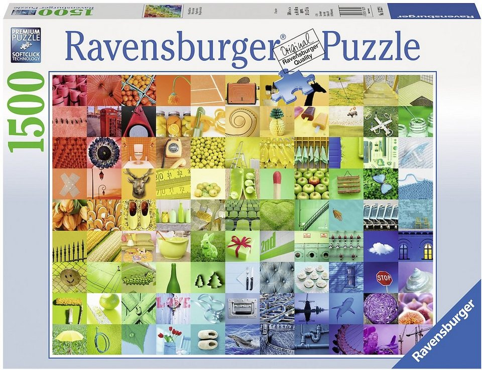 Ravensburger Puzzle, 1500 Teile, »99 Beautiful Colors«