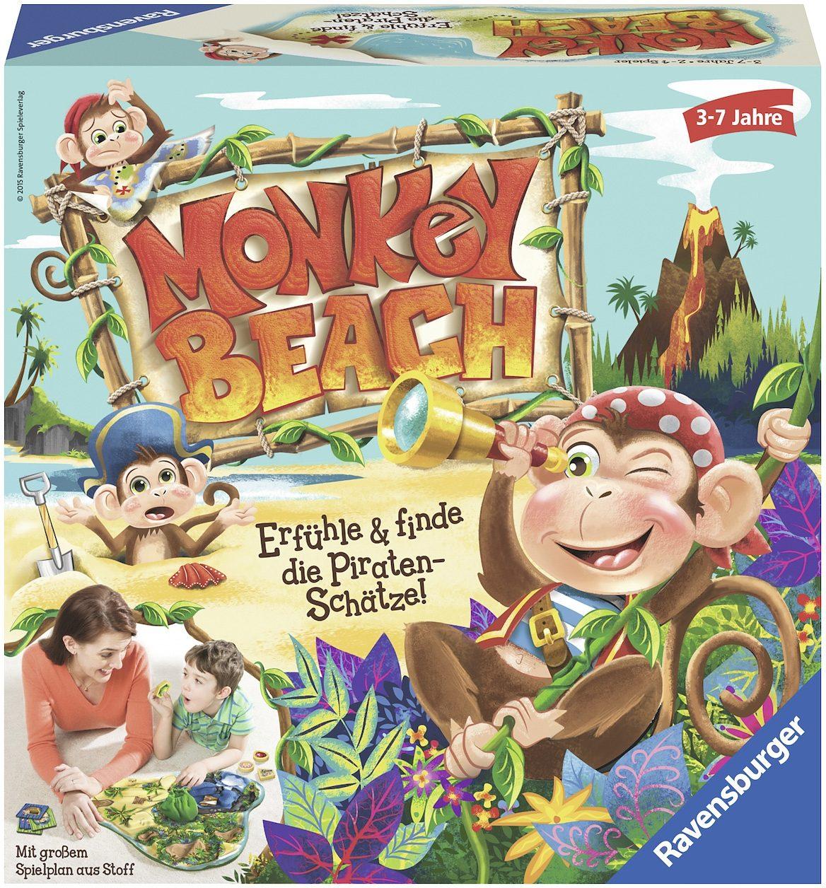 Ravensburger Tastspiel, »Monkey Beach«